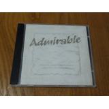 Cd Original Admirable Por Danilo Montero