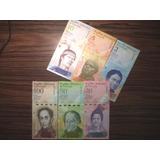 Set De Billetes De Venezuela Unc