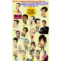 Caricaturas Personalizadas Bodas Cumpleaños Retrato Dibujo