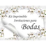 Kit Imprimible Bodas Y Despedida De Solteros Recuerdo Y Mas
