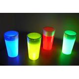 Vasos Neón 12 Oz, Fiesta Glow, Glow Party, (por Unidad)