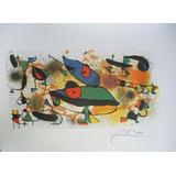 Joan Miro  Esculturas Ii  Numerada Y Firmada Con Coa