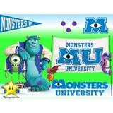 Kit Imprimible Monster Inc University Diseñá Tarjetas #2