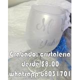 Grabados En Cristal, Vidrio, Cristalería.