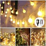 Greempire String Lights Globo Para Exteriores String Lights