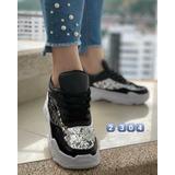 Zapatillas De Dama, *glitter* Super Cómodas Y A La Moda