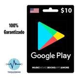 Google Play $10 (codigo Digital)