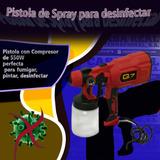 Pistola Para Pintar Con Compresor De 550w