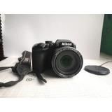 Cámara Nikon Coolpix B500 Zoom X40 Óptico.
