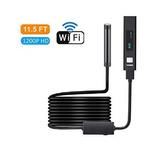 Wifi Endoscope, Inalámbrico, Cámara De Inspección Flexible