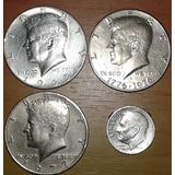 Monedas De U.s.a.en Circulación Brillante De Alta Calidad Xf