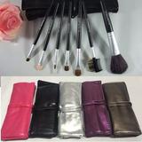 Set De Maquillaje Mac Brochas Y Pinceles 7 Piezas