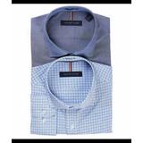 Paquete De Dos Camisa De Vestir Para Hombre Tommy Hilfiger,