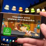 Invitaciones Video Cumpleaños El Chavo Del 8 Con Foto