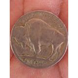 Moneda De 5 Centvos Bufalo Americano 1935