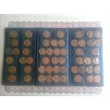 Set De Monedas Antiguas Americanas  Del Año 1944 Hasta Los8