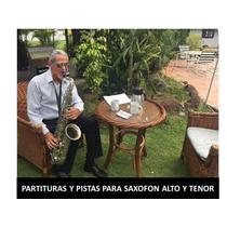 Partituras Con Pistas  Para Saxofon Alto&tenor