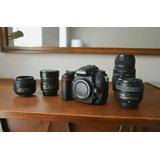 Nikon D7000 Dslr Camera Bundle W/ Multiple Lenses