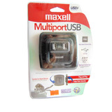 Hub Adaptador Multipuerto 7 Usb Flexible Maxell 19-01-1027