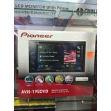 Reproductor Con Dvd Pioneer 2 Din Pantalla Tactil Avh 195dvd