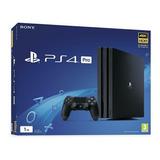 Ps4 Pro 1tb Sony Playstation 4 +2 Juegos Y Control Adicional