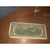 Billete 2 Dolar