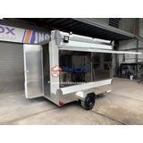 Remolque Tipo Food Truck 10ft. Para Comida Ràpida Hot Dog Ha
