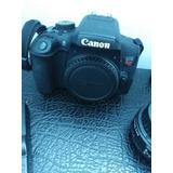 Camara Canon T6i Rebel