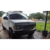 Ford Van Econoline E250 2001 Nitida Carro De Trabajo