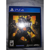 Call Of Duty, Black Ops 4 Ps4
