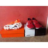 Combo Tacos Nike Y Zapatillas adidas