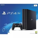 Playstation 4 Pro 1tb + 2 Controles 4 Juegos - Tienda Fisica