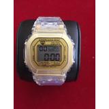 Relojes Tipo Casio Transparente