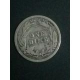 Moneda Antigua De 1911 One Dime