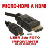 Cable Micro Hdmi A Hdmi 1.5 Metro Agi1129 No Es Para Celular