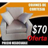 Mueble.(sofa Un Puesto. Color Café Beige,nuevo De Promoción)