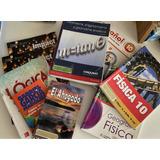 Libros De 10mo, Panama (perfecto Estado)