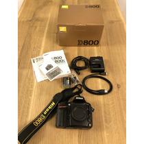 Nikon D800 W Nikkor 24-120 F3.4-5.6 Af Zoom Excelente Estado