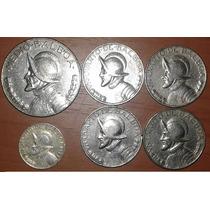 Lote De 6 Monedas De Panamá, Ver Detalle