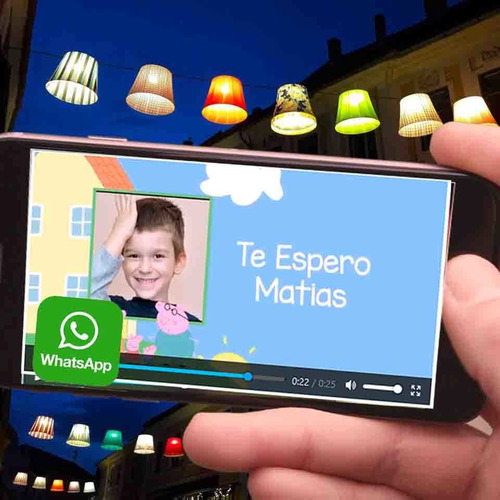 Video Invitacion  Peppa Pig  Androi Fiesta
