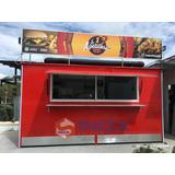 Food Truck Estatico Kiosco Fabricamos A La Medida En Acero