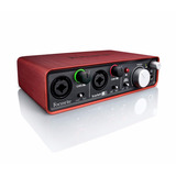 Focusrite Scarlett 2i2 Usb Recording Audio Interface