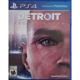 Juego Ps4 Detroit Become Human Nuevo