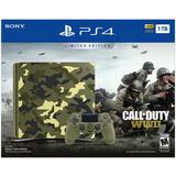 Playstation 4 Slim 1tb Edicion Limitada Call Of Duty Wwii