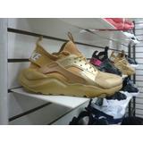 Zapatillas Nike Huarache Doradas