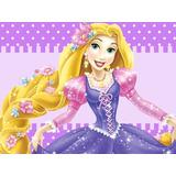Kit Imprimible Enredados Rapunzel Candy Bar Tarjetas #1