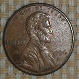 One Penny Año1996 Cuño Doblado Leyendas Km# 201b