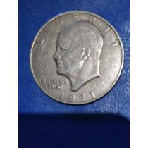 Moneda De 1 Dólar Americano De 1971