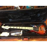 Fender American Deluxe 5 String Jazz Bass Guitar