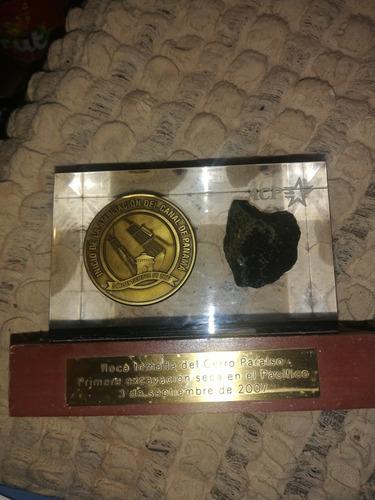 Piedra Y Moneda De Ampliación Del Canal 2003 Panamá... Acp